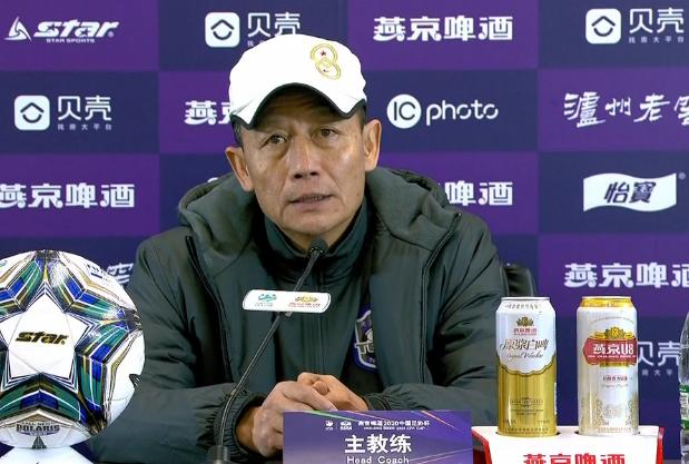 王宝山:足协杯目标是踢更多的比赛,以此来磨练战术打法
