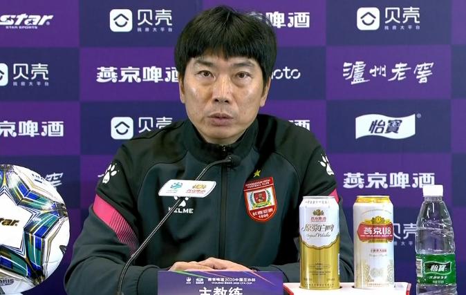 陈洋:经历了一年中甲,不适应与中超球队的高强度对抗