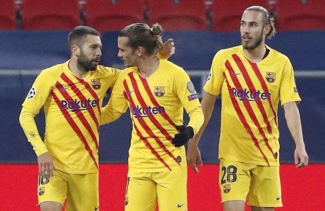 欧冠:登贝莱传射格子破门,巴萨客场3-0费伦茨瓦罗斯