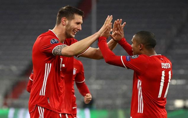 欧冠:聚勒舒波-莫廷破门,拜仁慕尼黑2-0莫斯科火车头