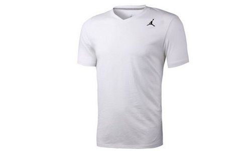 专柜正品 AIR JORDAN CORE V NECK TEE 短袖 525396
