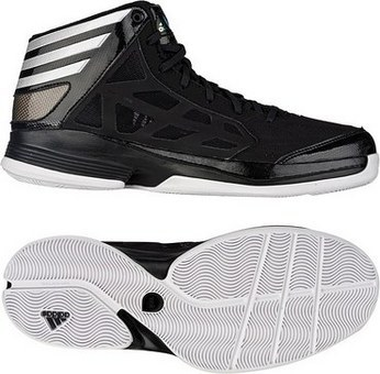 sports shoes 3b82d d70a6 adidas Crazy Shadow 2 一号黑亮白黑
